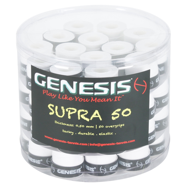 50 buc - Overgrip Genesis Supra 50